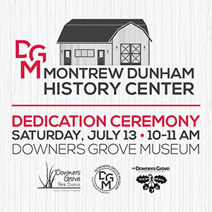 Montrew Dunham History Center Dedication