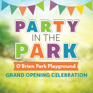 O'Brien Park Playground Party in the Park