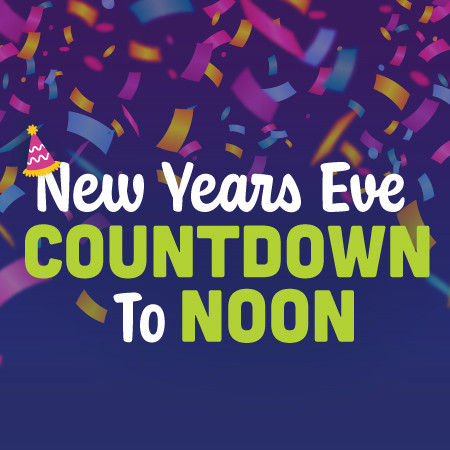 New Year's Eve Countdown to Noon