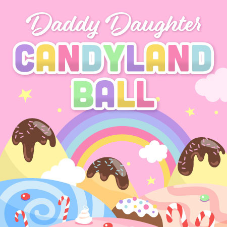 Daddy Daughter Candy Land Ball